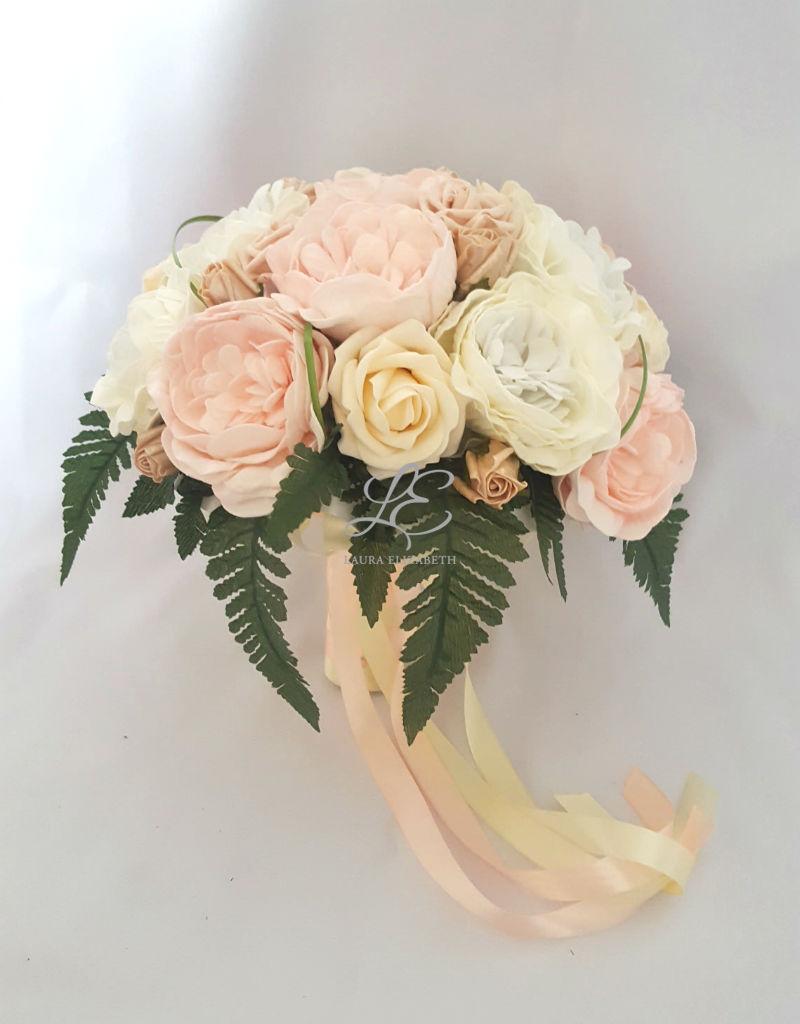 Jasmine bridal bouquet with peony roses laura elizabeth artificial jasmine bridal bouquet with peony roses laura elizabeth artificial wedding flowers izmirmasajfo